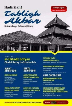 tabligh akbar sulawesi utara