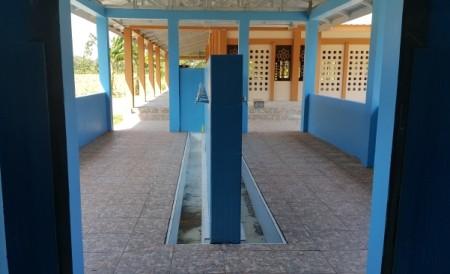 Tempat Wudhu Masjid Ali bin Humaid Ad-Dir'iy Pinrang