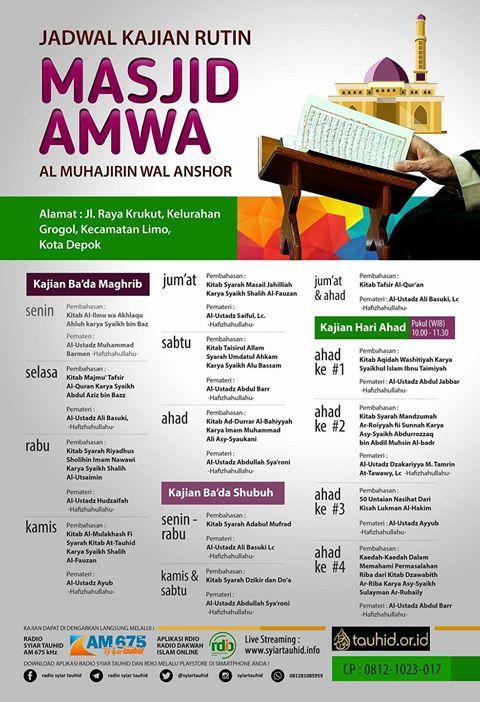 Kajian Rutin AMWA 2017