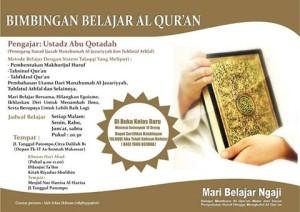 Bimbingan Belajar Al-Qur'an