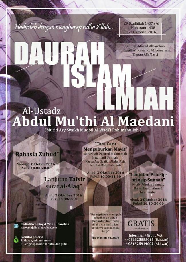 daurah-islam-ilmiah-albarokah