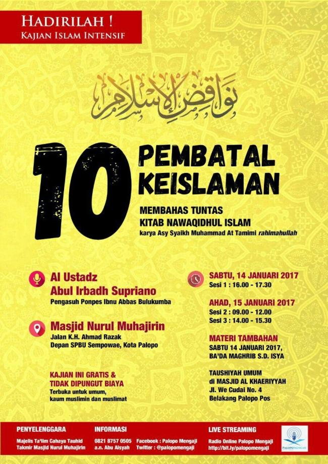 10-pembatal-keislaman
