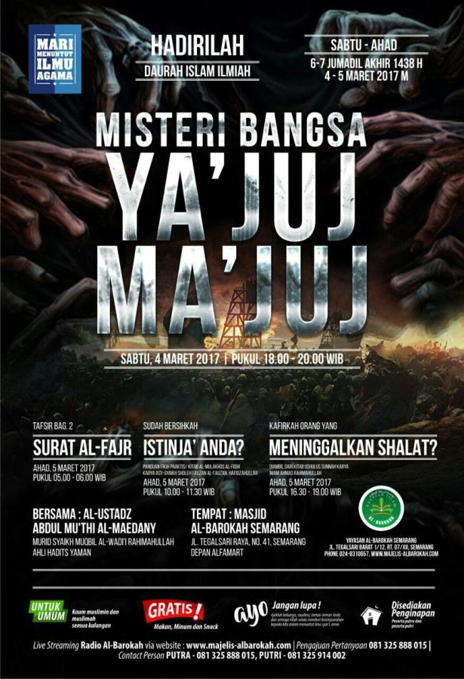 Misteri Bangsa Yajuj dan Majuj