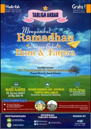 Menyambut Ramadhan dengan bekal ilmu dan taqwa