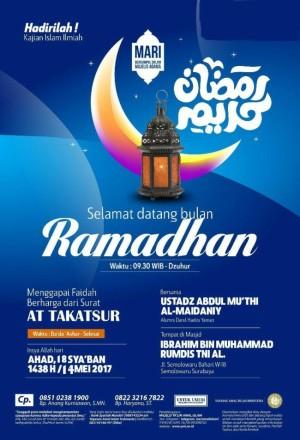 Selamat datang bulan ramadhan