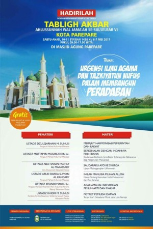 Tabligh Akbar Sesulselbar VI