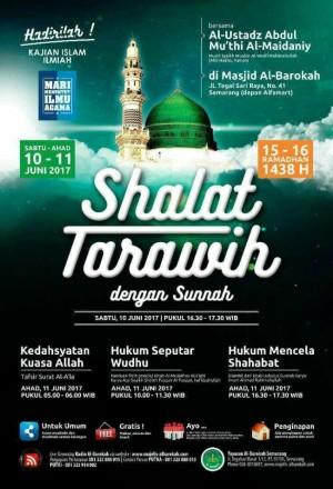 Shalat tarawih dengan sunnah