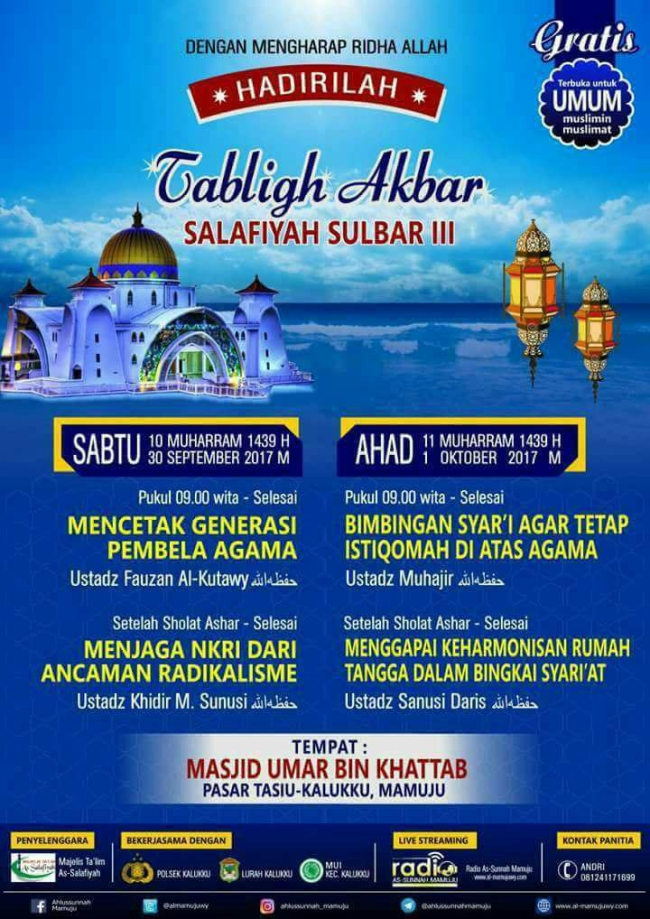 Tabligh Akbar Salafiyah Sulbar III