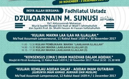 Kuliah aqidah Aceh