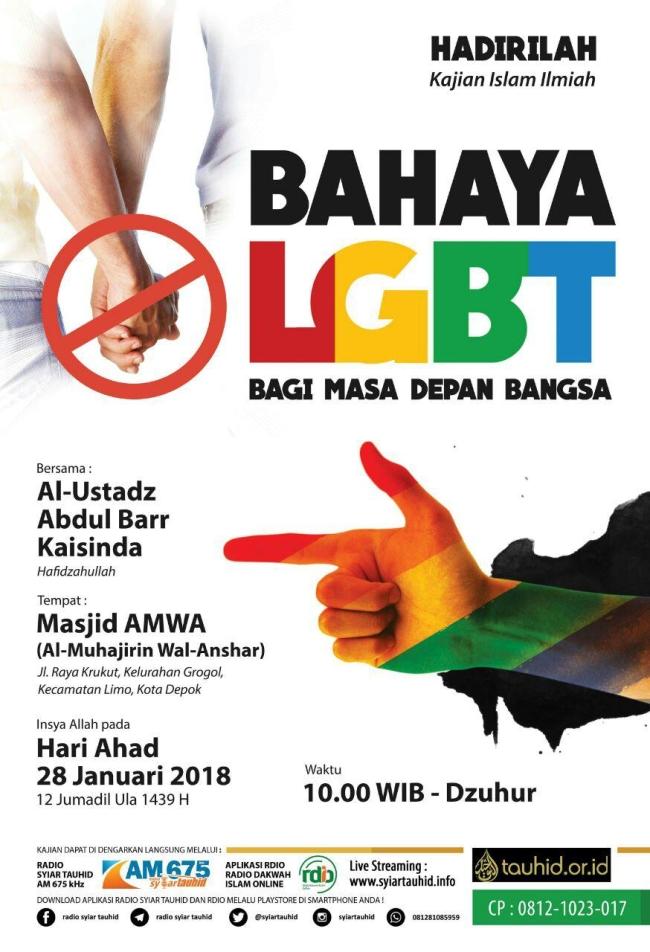 Bahaya LGBT Bagi Masa Depan Bangsa