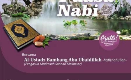Tabligh Akbar Ustadz Bambang Tentang Mencontoh Puasa Nabi