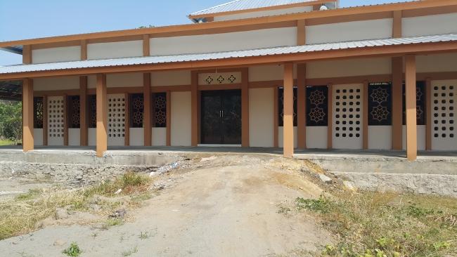 Tampak dari Depan Masjid Ali bin Humaid Ad-Dir'iy, Pinrang