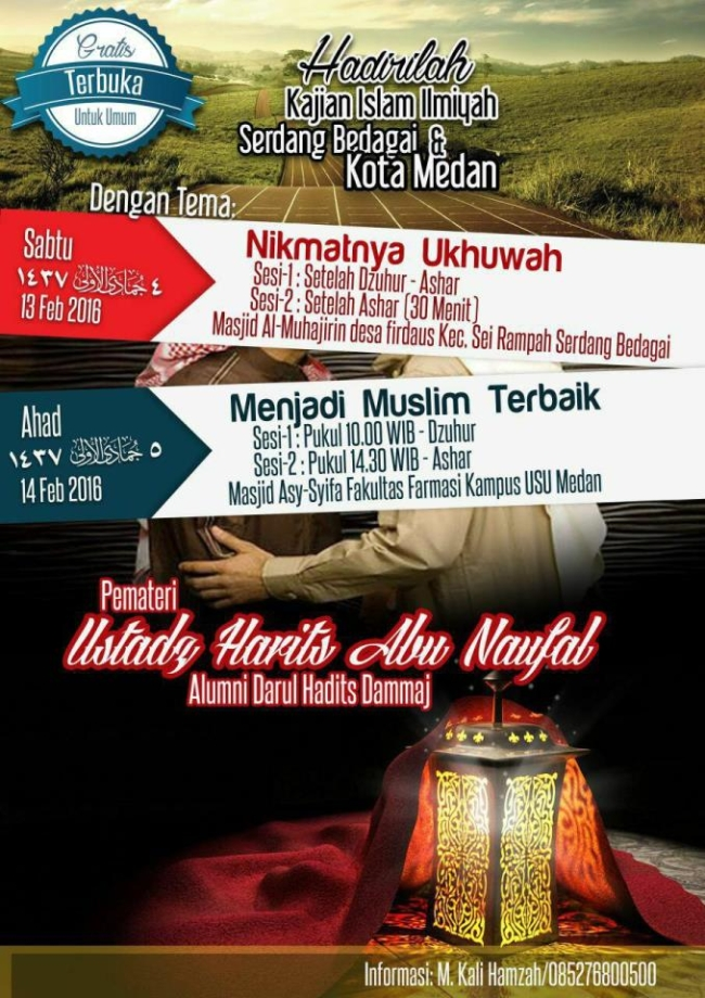 Menjadi Muslim Terbaik - Medan