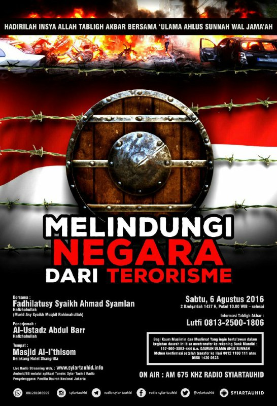 Melindungi Negara dari Terorisme