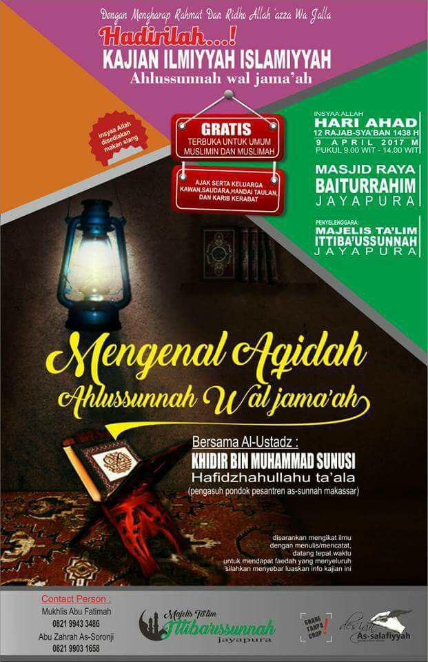 Mengenal Aqidah Ahlus Sunnah wal Jamaah