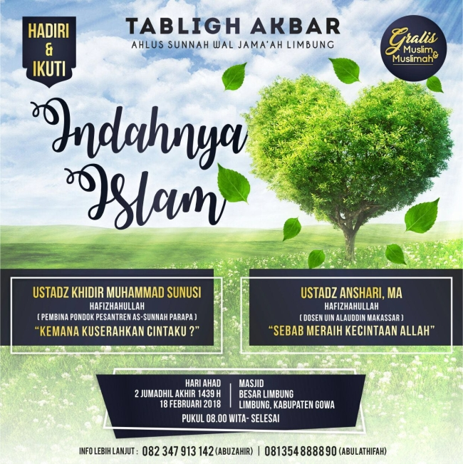 Tabligh Akbar Indahnya Islam
