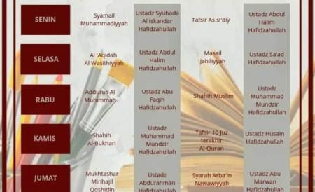 Kajian rutin mahad al islam bandung