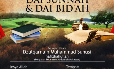 10 Kaidah membedakan dai sunnah dan dai bidah