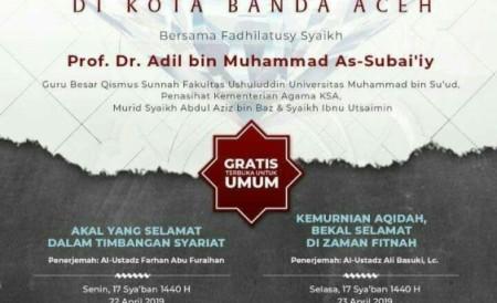 Dauroh Islam Ilmiyah Syaikh Adil